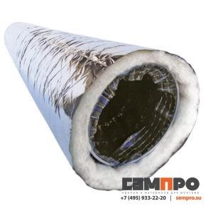 Воздуховод-гибкий-изолированный
